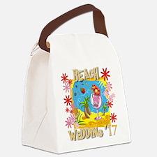 Beach Wedding 17 Canvas Lunch Bag