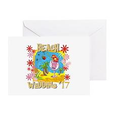 Beach Wedding 17 Greeting Card