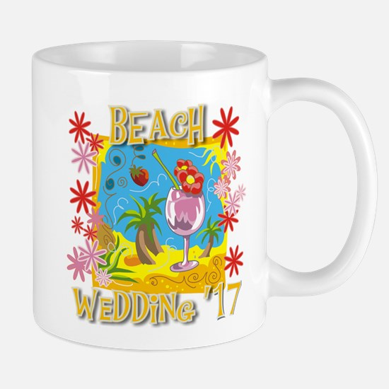 Beach Wedding 17 Mug