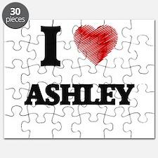 I love Ashley Puzzle