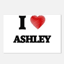 I love Ashley Postcards (Package of 8)
