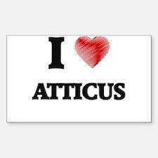 I love Atticus Decal
