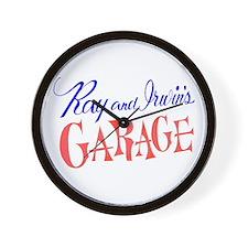 Ray & Irwin's Garage Wall Clock