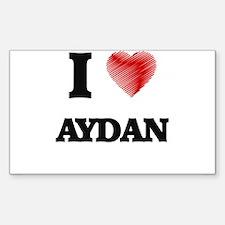I love Aydan Decal
