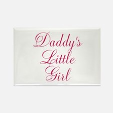 Daddys Little Girl in Pink Magnets