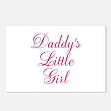 Daddys Little Girl in Pink Postcards (Package of 8