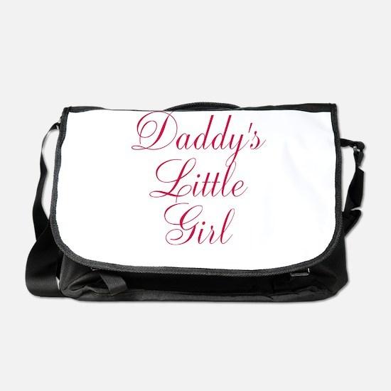 Daddys Little Girl in Pink Messenger Bag