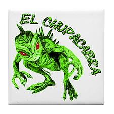 New Chupacabra Design 15 Tile Coaster