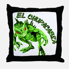 New Chupacabra Design 15 Throw Pillow