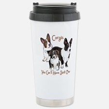 Cool Corgi dogs Travel Mug