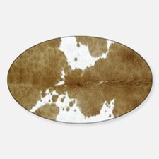 Cute Animal skin Sticker (Oval)