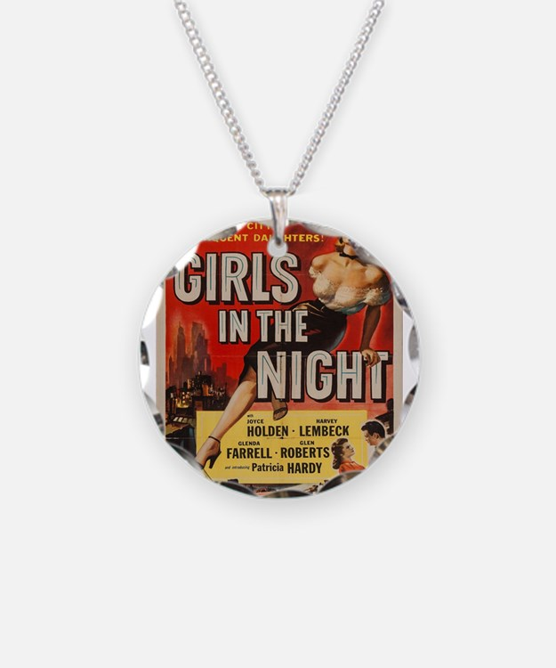 Vintage poster - Girls in th Necklace