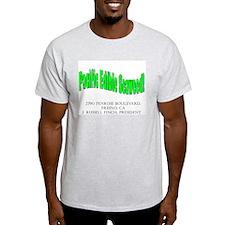 Pacific Edible Seaweed Ash Grey T-Shirt