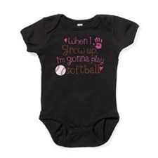 Cute Girls sports Baby Bodysuit