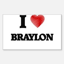 I love Braylon Decal