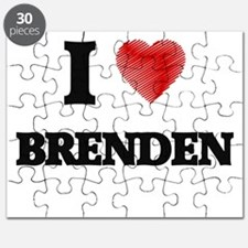I love Brenden Puzzle