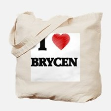 I love Brycen Tote Bag