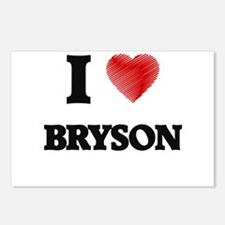 I love Bryson Postcards (Package of 8)