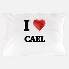 I love Cael Pillow Case
