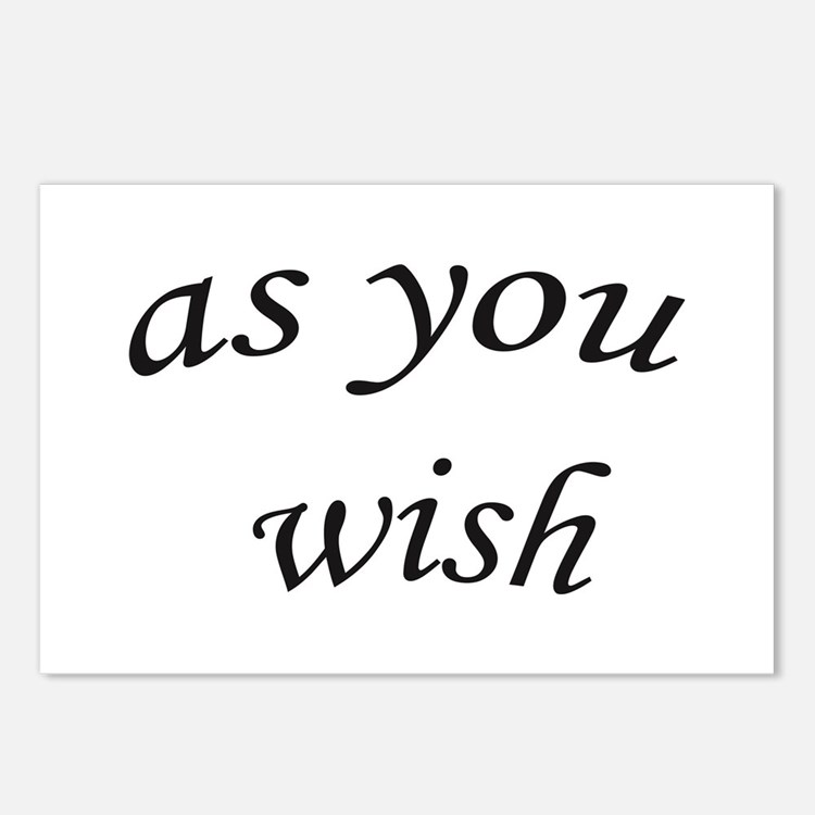 Cute Wish Postcards (Package of 8)
