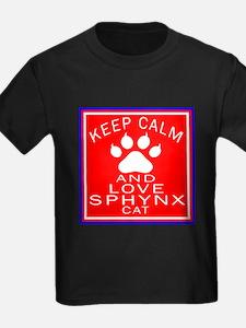 Keep Calm And Sphynx Cat T