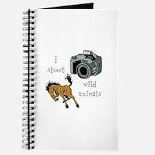 I Shoot Wild Animals Journal