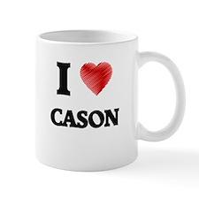 I love Cason Mugs