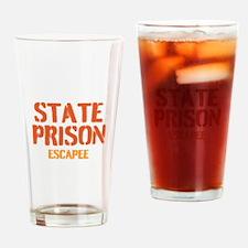 State Prison Escapee Drinking Glass
