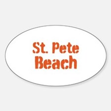 St. Pete Beach Decal