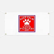 Keep Calm And Punjabi Cat Banner