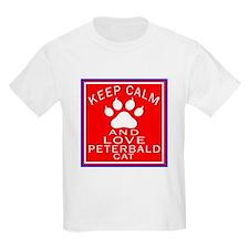 Keep Calm And Peterbald Cat T-Shirt