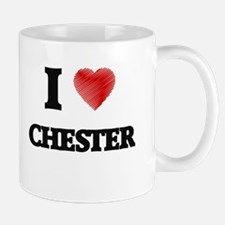 I love Chester Mugs