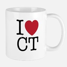 I Love CT Connecticut Mug
