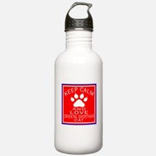 Keep Calm And Oriental Water Bottle
