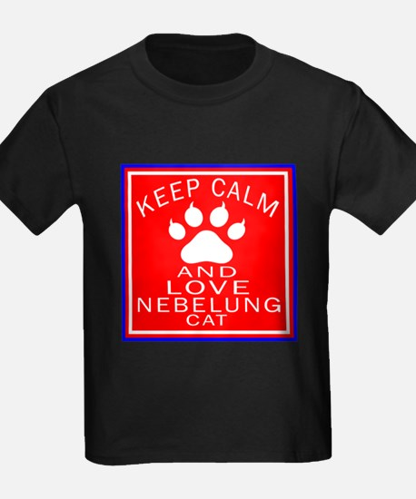 Keep Calm And Nebelung Cat T