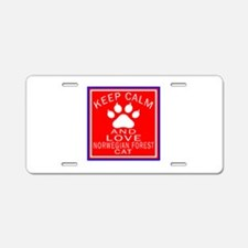 Keep Calm And Norwegian For Aluminum License Plate