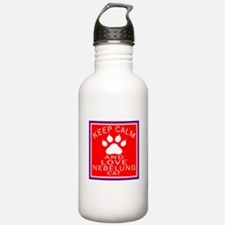 Keep Calm And Nebelung Water Bottle