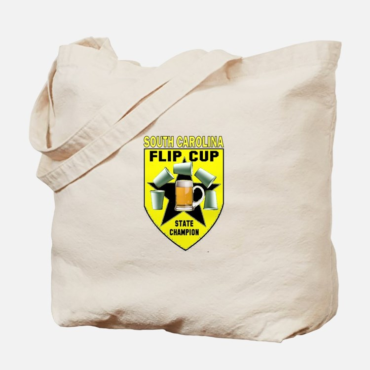 South Carolina Flip Cup State Tote Bag