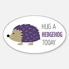 Hug A Hedgehog Decal