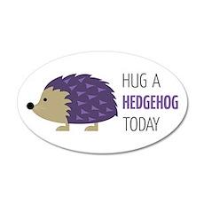 Hug A Hedgehog Wall Decal