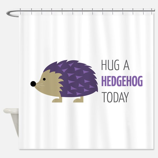 Hug A Hedgehog Shower Curtain