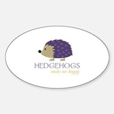 Happy Hedgehogs Decal