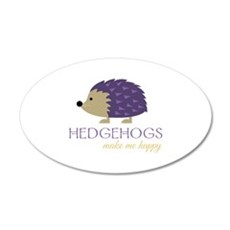 Happy Hedgehogs Wall Decal