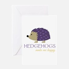 Happy Hedgehogs Greeting Cards