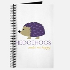 Happy Hedgehogs Journal