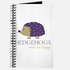 Happy Hedgehogs Journal