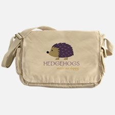 Happy Hedgehogs Messenger Bag