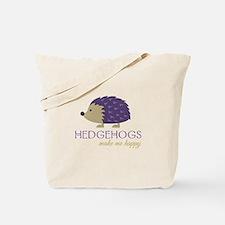 Happy Hedgehogs Tote Bag