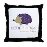 Hedgehog Cotton Pillows