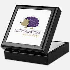 Happy Hedgehogs Keepsake Box